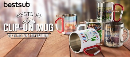 Clip on and Go! Start a Journey with BestSub Clip-on Mug!