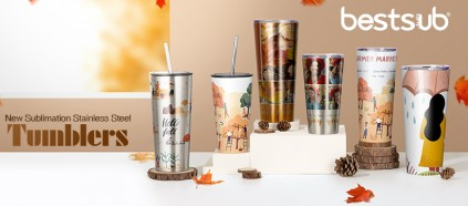 Again! Check BestSub New Sublimation Stainless Steel Tumblers!