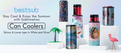 Stay Cool & Enjoy the Summer with Sublimation Can Coolers!