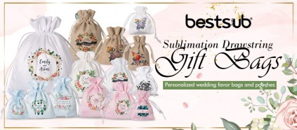 Come and customize your very unique wedding favor gift bags!