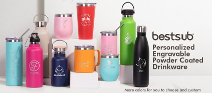 Your Bottle, Your Color, Your Choice, Let's Engrave!