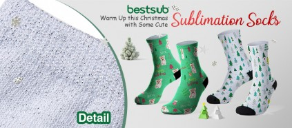Warm Up this Christmas with Some Cute Sublimation Socks!