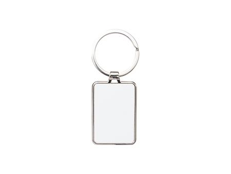 Sublimation Blank Key Chain (Round Corner Rect, 3*4.8cm)