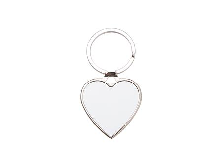 Sublimation Blank Key Chain (Heart, 4*4.5cm)