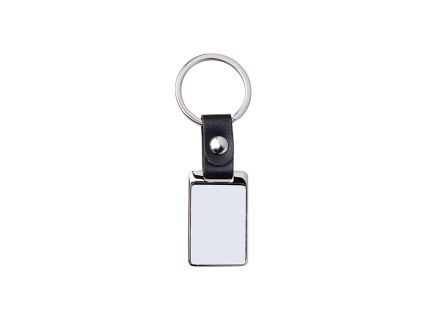 Sublimation PU Key Chain (Square, 2.5*6.5cm )