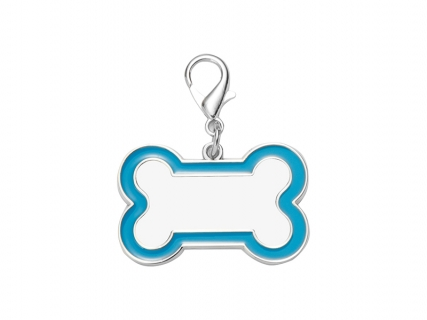 Sublimation Dog Tag (Blue Edge, 3*4.5cm)