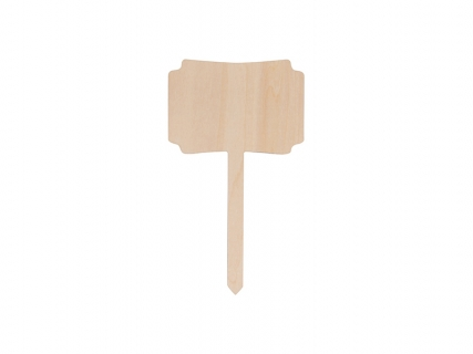 Sublimation Plywood Garden Stake(10*17.5cm)