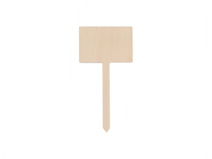 Sublimation Plywood Garden Stake (Rectangle,7*17.5cm)