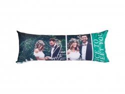 Sublimation Pillow Cover (Peach Skin, 45*120cm)