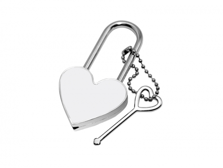 Heart Sublimation Lock