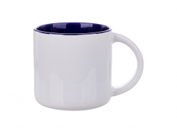 14oz Two-Tone Color Mug (Dark Blue)