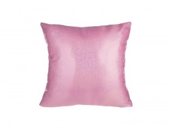 Glitter Square Shape Pillow Cover (40*40cm,Pink)