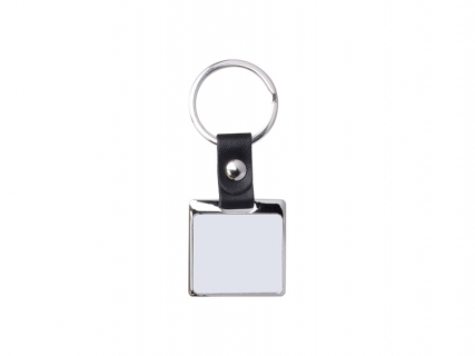 Sublimation PU Strap Key Chain (Square, 3.5*6cm)