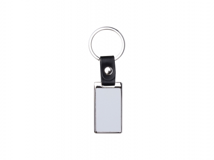 Sublimation PU Strap Key Chain (Rectangle, 2.5*7cm)
